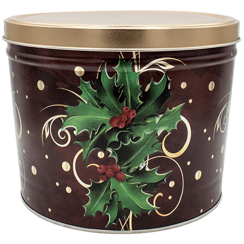 Boughs of tin gallon. Transparent holly holiday vector black and white