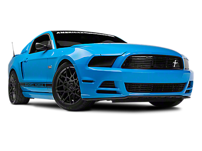 Transparent hood. Mustang hoods accessories americanmuscle