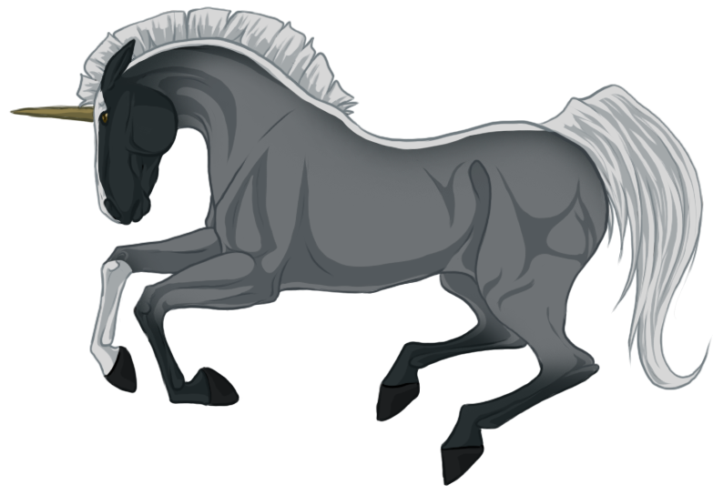 Transparent horses blue roan. Horse by jethero on