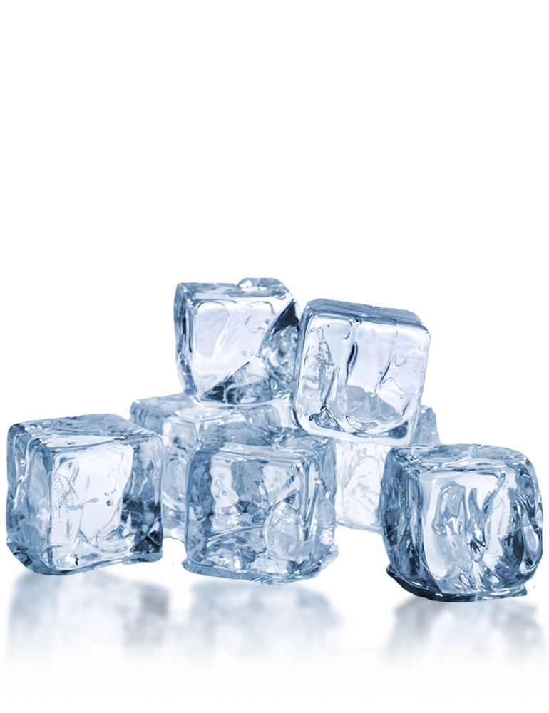 Transparent photography ice. Name png ready made