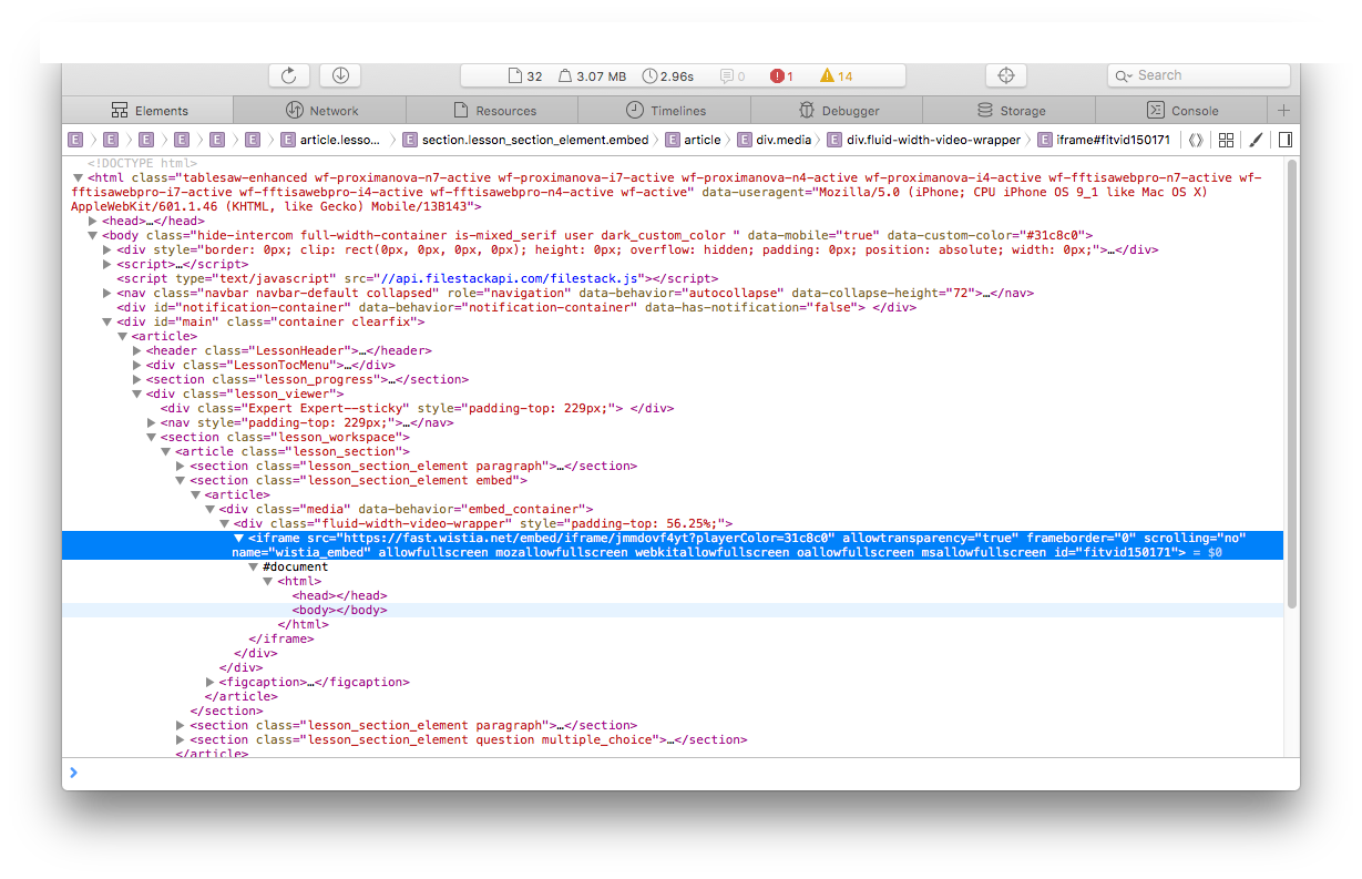 Transparent iframes ios. Wkwebview not loading content