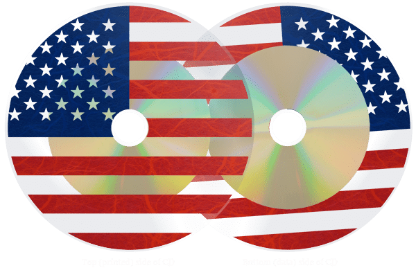 Transparent cd clear. Cds with full colour
