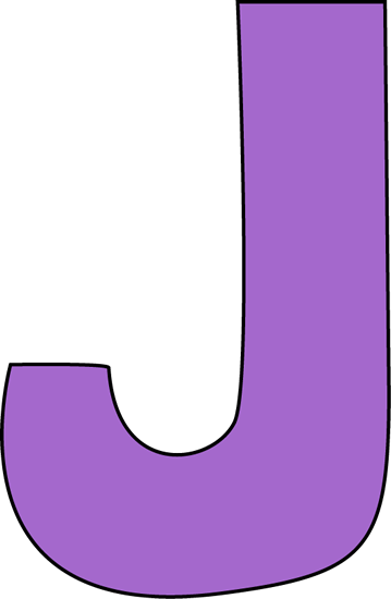 J transparent large. Purple letter clip art