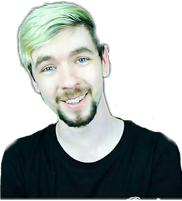 Transparent jacksepticeye head. Bean adorable sticker by