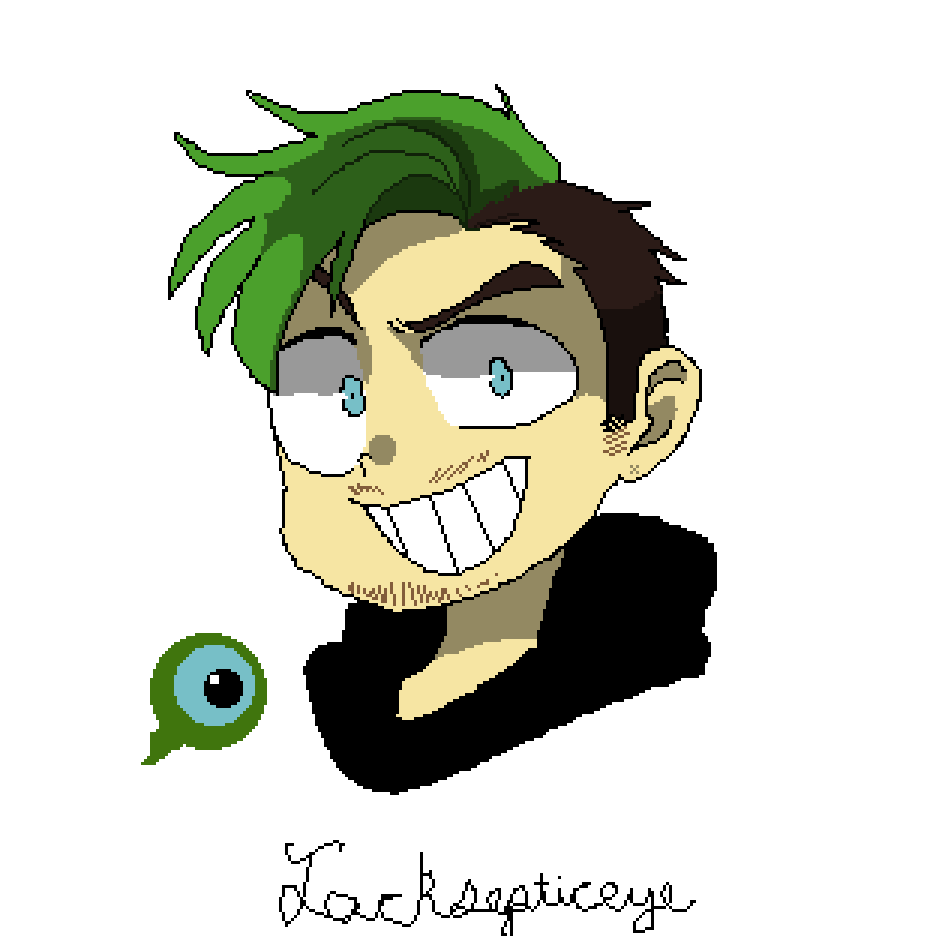 Transparent jacksepticeye drawing. Pixilart by armygirl colors