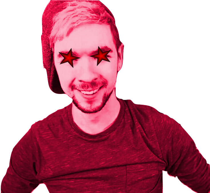 Transparent jacksepticeye head. Triggered bendy and the
