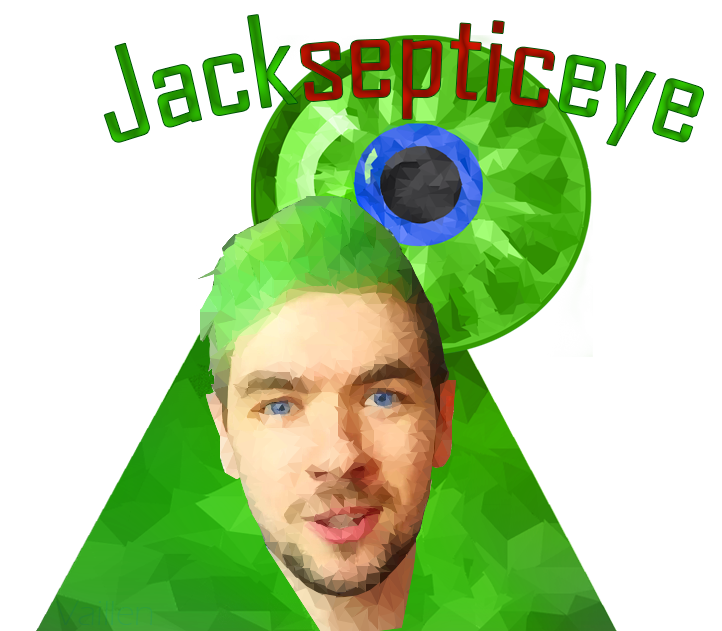 transparent jacksepticeye low poly