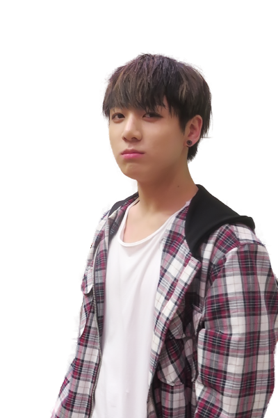 Transparent jungkook 2015. Bts render by hikarikida