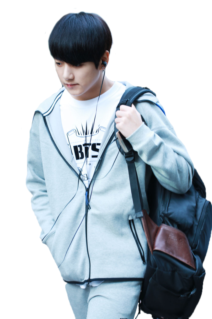 Transparent jungkook blue. Bts render by hikarikida