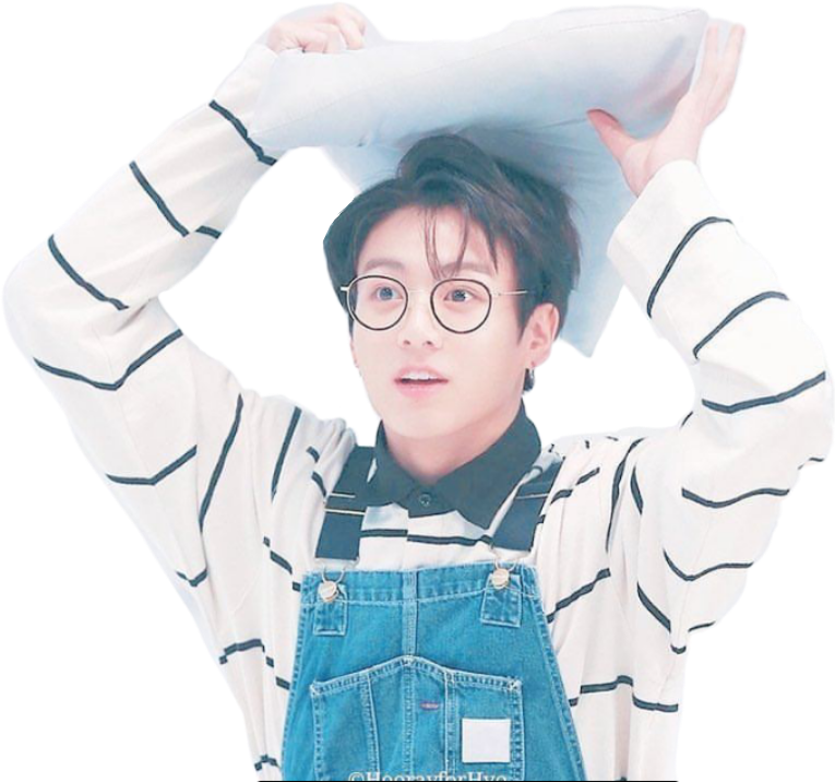 Transparent jungkook cute. Jungkookbts bts army pillow