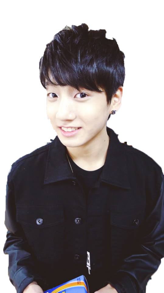 Transparent jungkook hairstyle. Bts png by blanktaejin