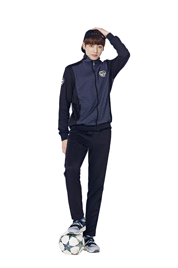 Transparent jungkook standing. Stand by bts on