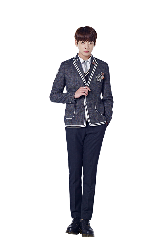 Transparent jungkook uniform. Picture bts for smart