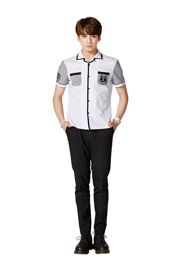 Transparent jungkook uniform. Pin by handsome on