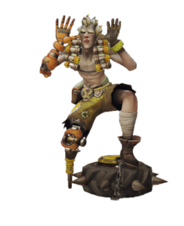 Transparent junkrat evil. That thing and all