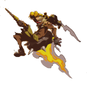 Transparent junkrat firecracker. Image spray firework png