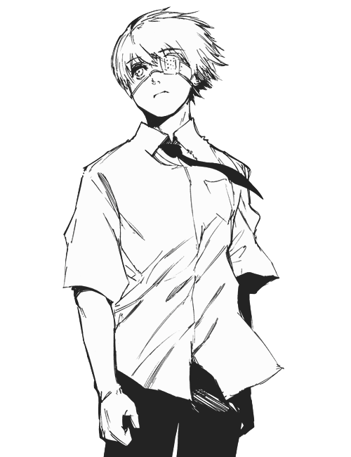 Transparent kaneki. Tumblr i made a