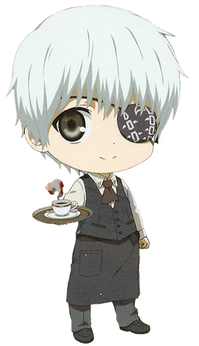 Transparent kaneki chibi. Kawaii anime and so