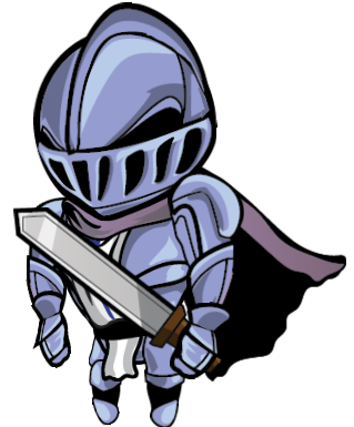 Transparent knight cartoon. And animation opengameart org