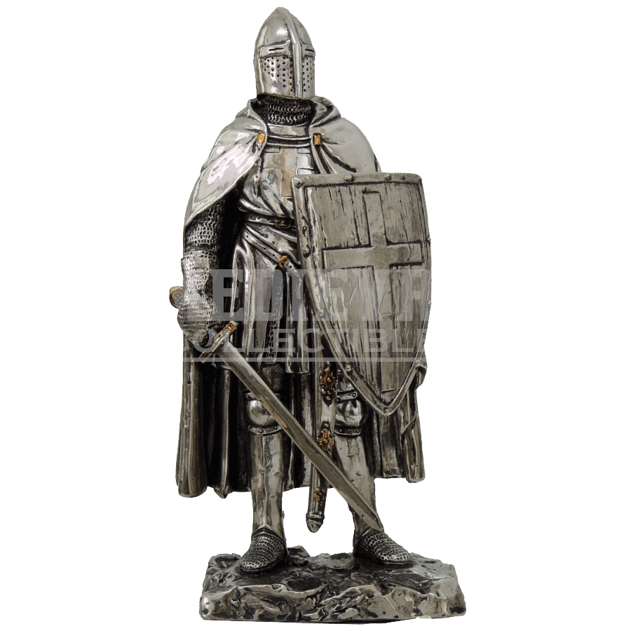 Transparent knight crusader. Statue cc by medieval