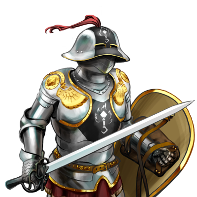 Transparent knight hundred years war. Knightsfoot soldiers click