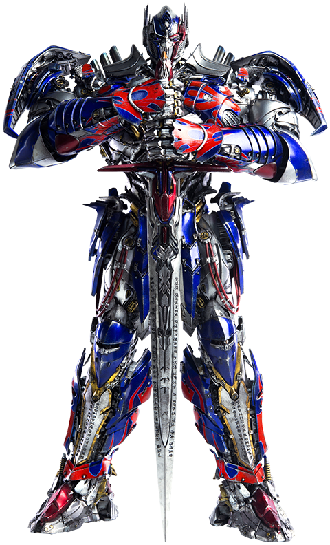 Transparent knight optimus prime. Transformers the last action
