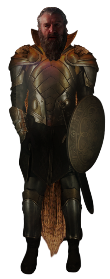 Transparent knight tyr. Odinson by camo flauge
