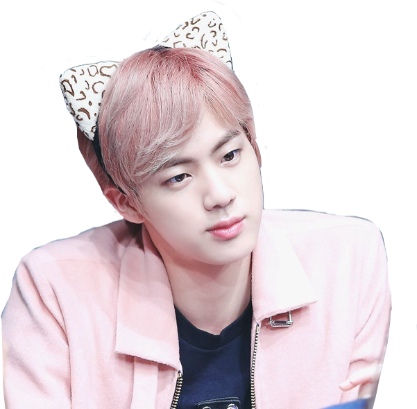 Transparent kpop cute. Jin seokjin bts dross