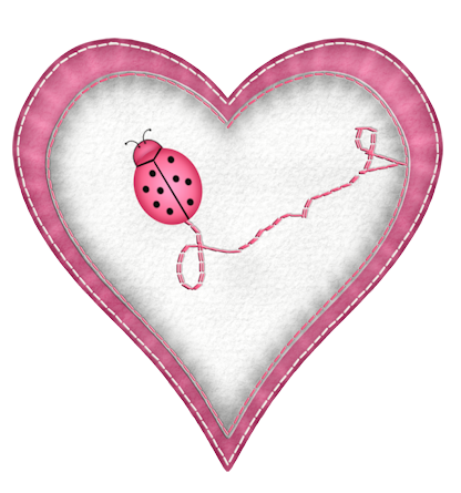 Transparent ladybug heart. Pin by lisa jo