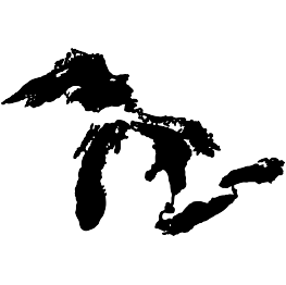 Transparent lake svg. Great lakes silhouette free