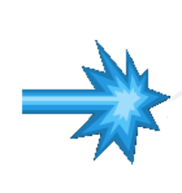 Transparent laser blue. Icons png vector free