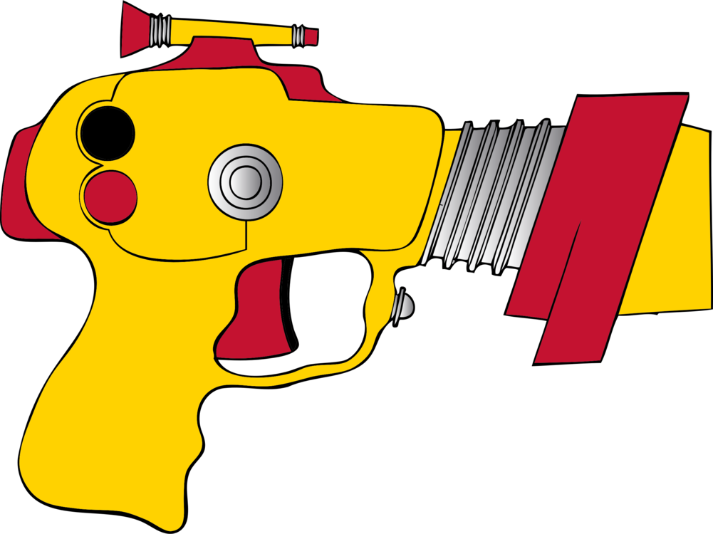 Transparent laser clipart. Tag raygun firearm free