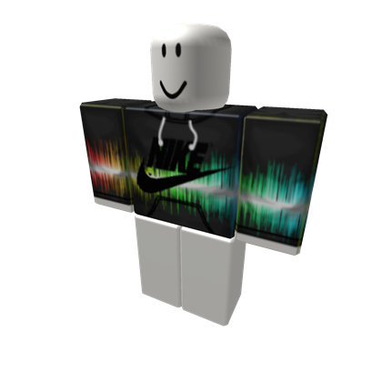 Transparent laser cool. Colorful nike hoodie roblox