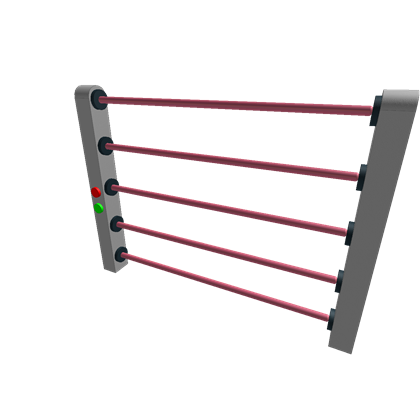 Transparent laser security. Classic remakes gate roblox