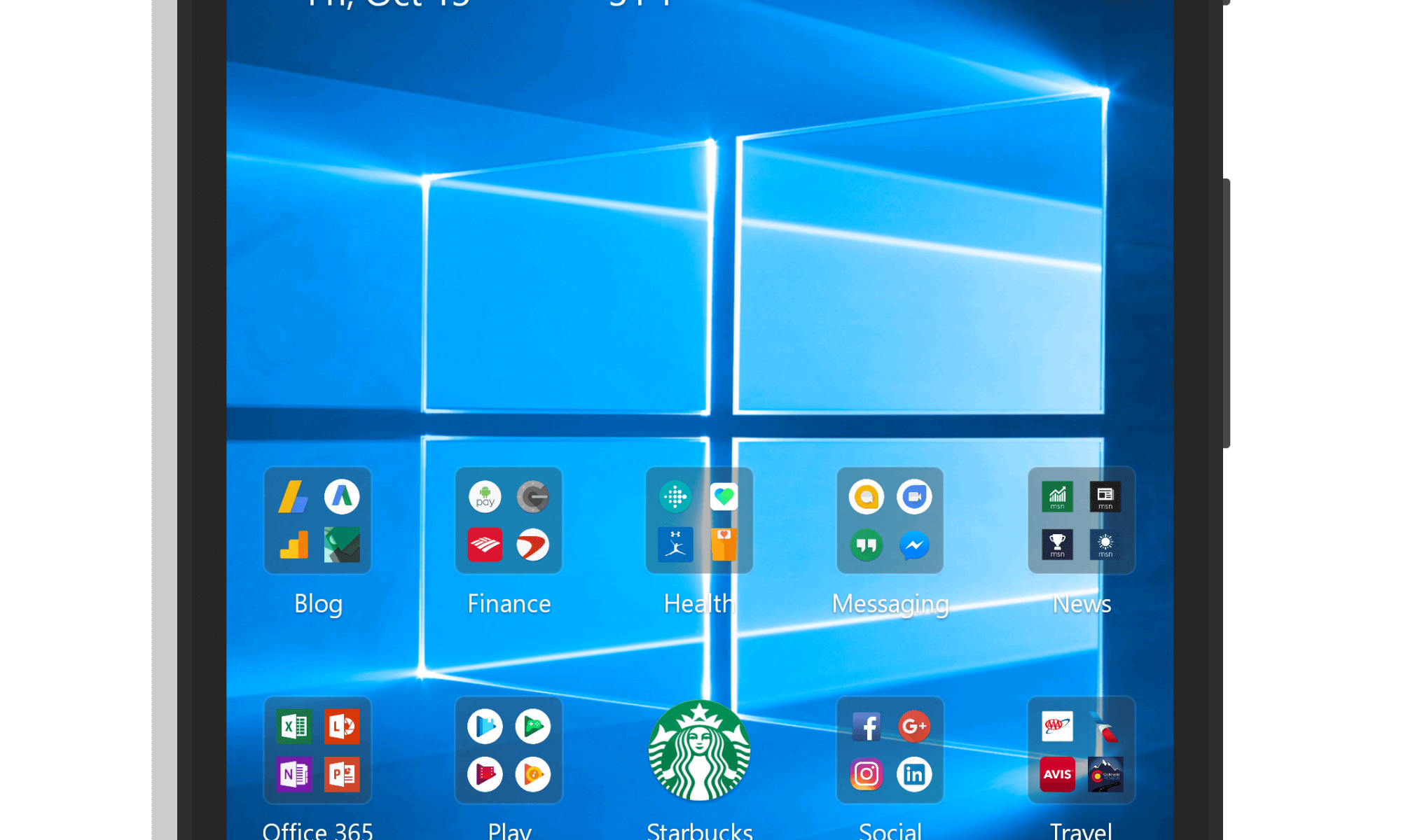 Transparent launcher android. Microsoft for to get