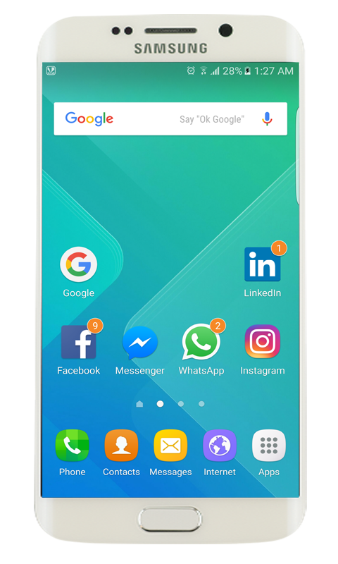 Transparent launcher app. Samsung galaxy s apk