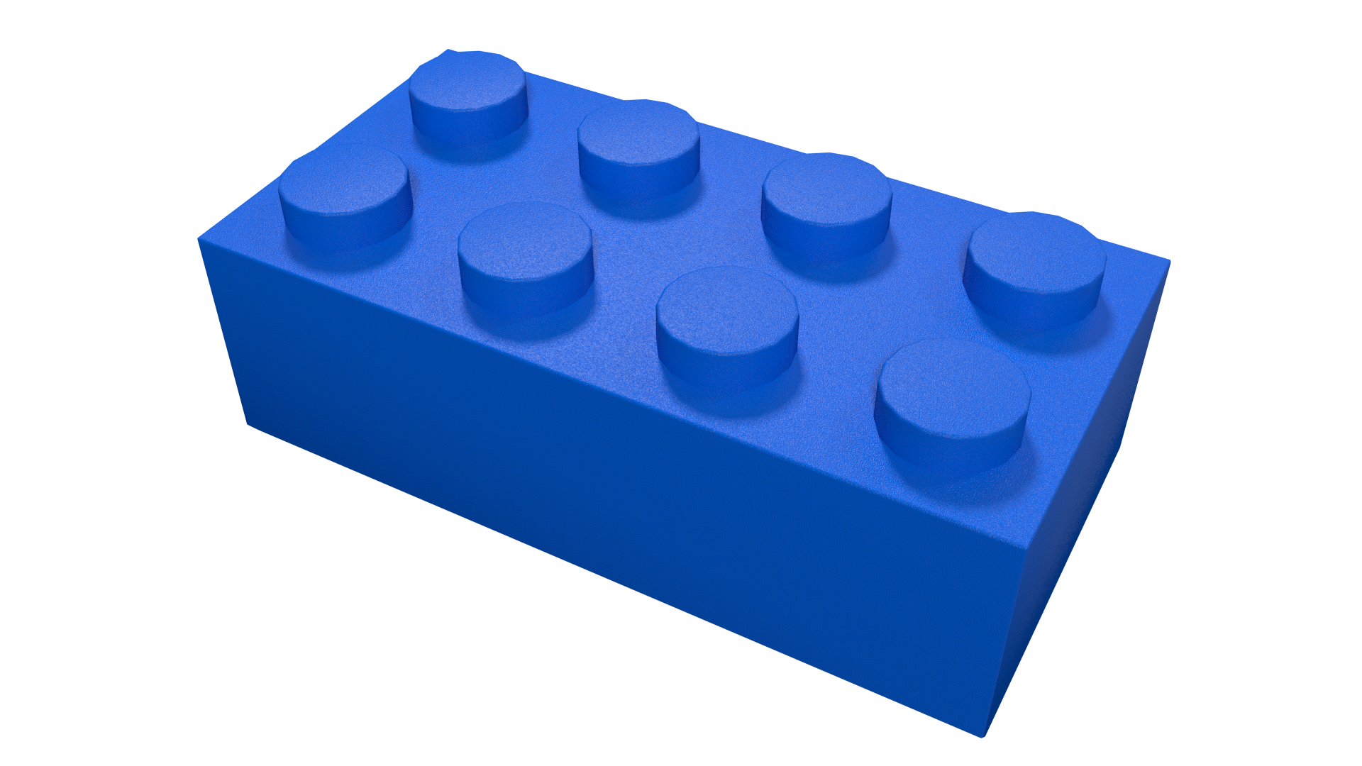Transparent lego. Materials in blender cycles