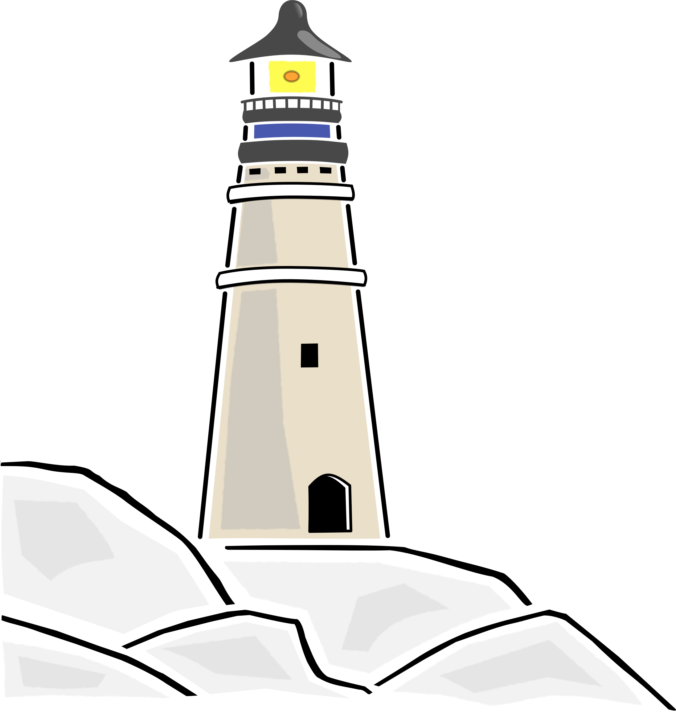 Transparent lighthouse vector. Light house png