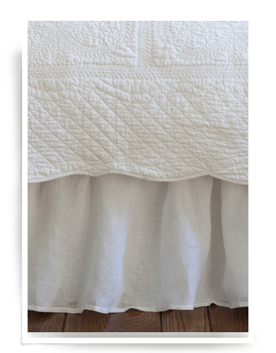 transparent linen voile