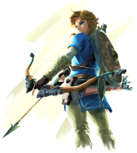 Transparent link bow arrow. Zelda wiki botw artworkpng