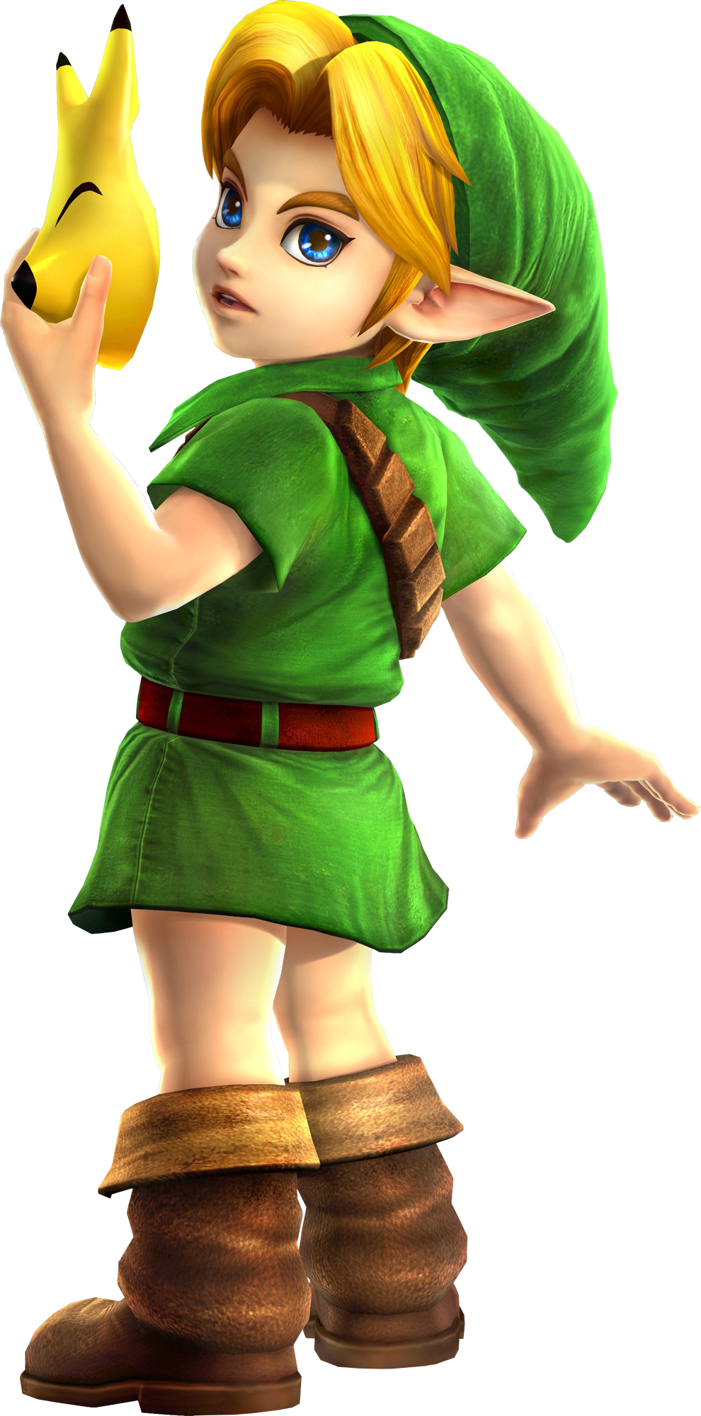 Transparent link child. Image young hyrule warriors