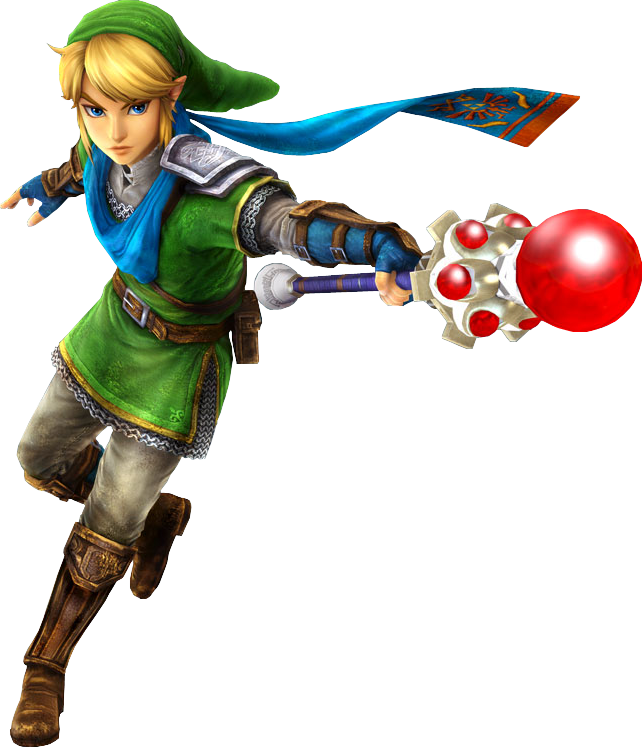 transparent link hyrule warriors