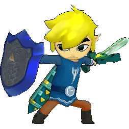 Transparent link outfit. Image hyrule warriors legends