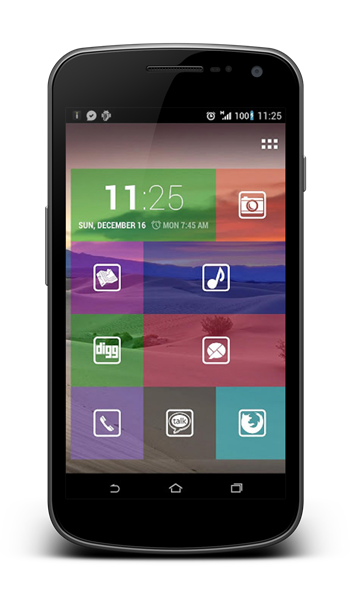 Transparent launcher android. This home screen brings