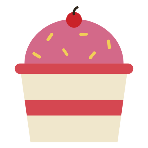 Vector cupcakes cherry. Cupcake icon transparent png
