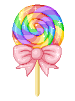Transparent lollipop kawaii. Pixel by sarahthepegasister on