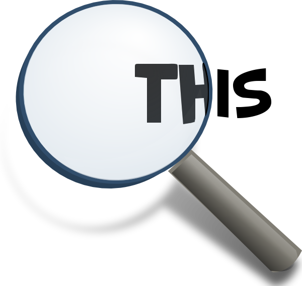 Transparent magnifying glass png. Gimp chat effect im