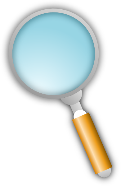 Transparent magnifying glass png. Clip art at clker
