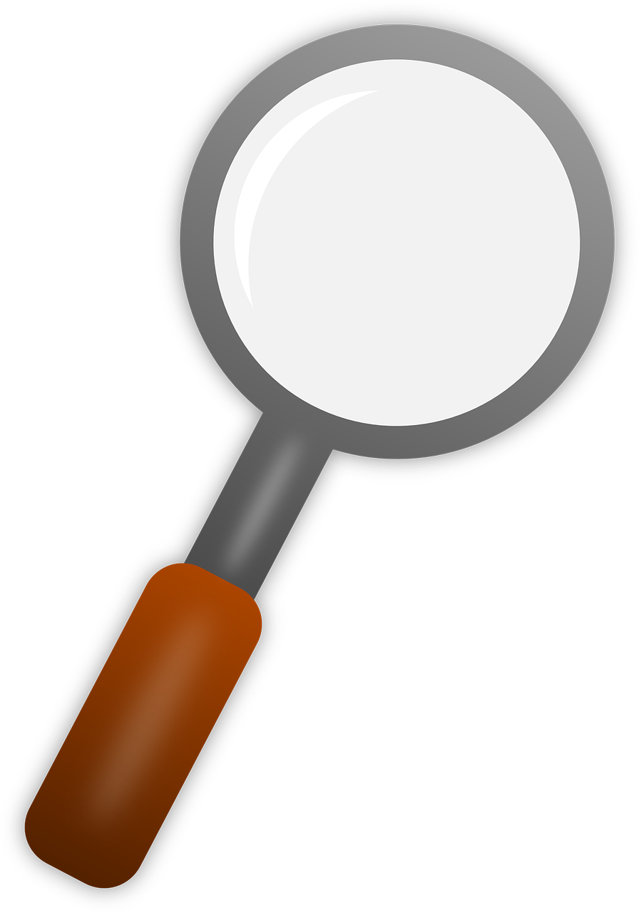 Transparent magnifying glass png. Lens loupe image picpng