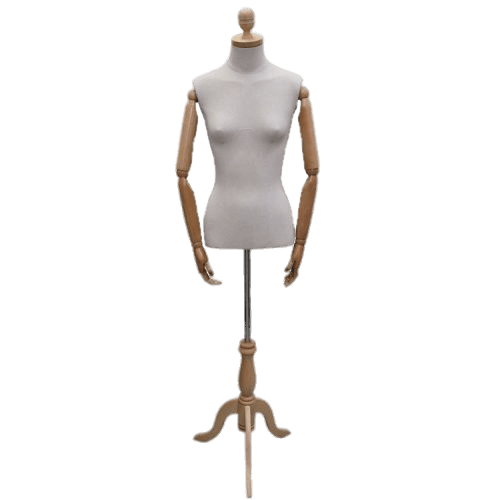 Transparent mannequin. Female articulated dummy png